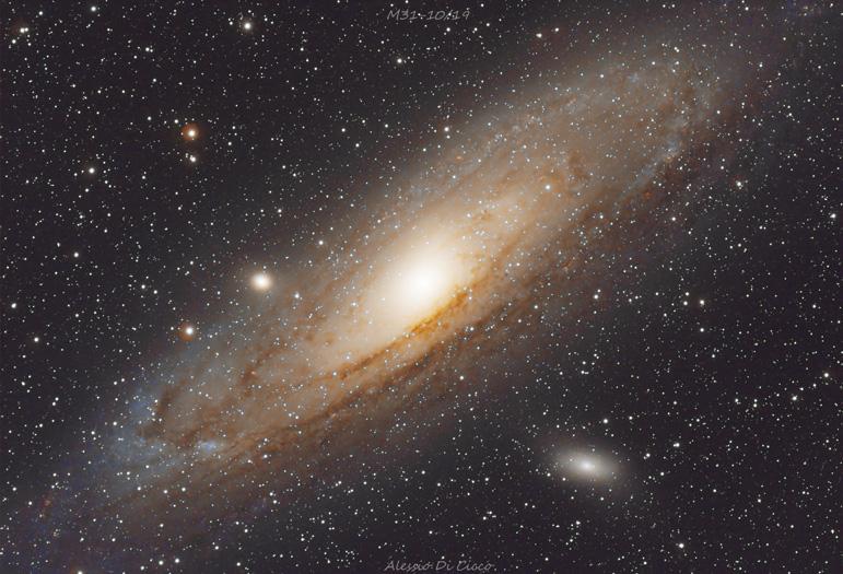 astrofotografia astrofarm alessio di cicco m31