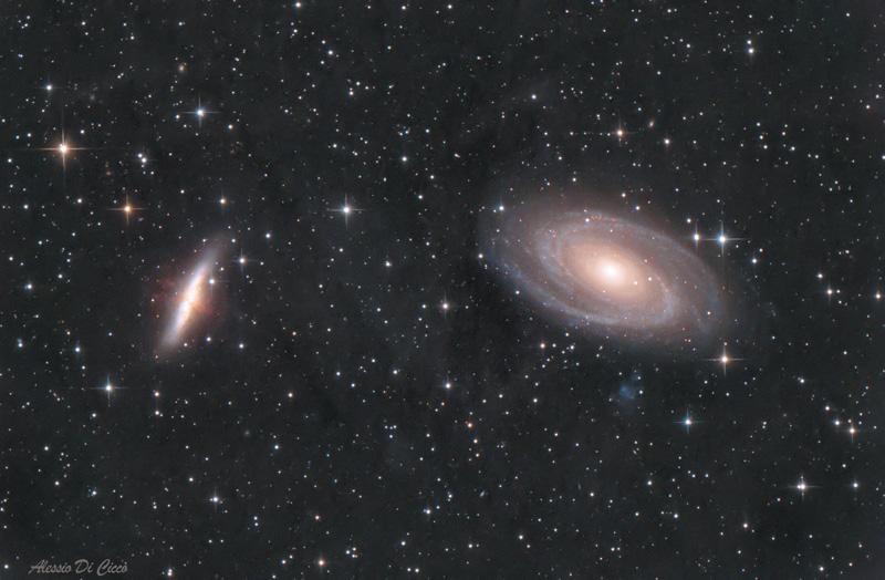 astrofotografia astrofarm alessio di cicco m81
