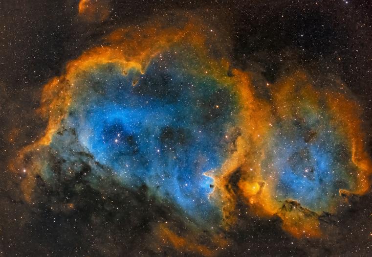 astrofotografia astrofarm alessio di cicco nebulosa anima