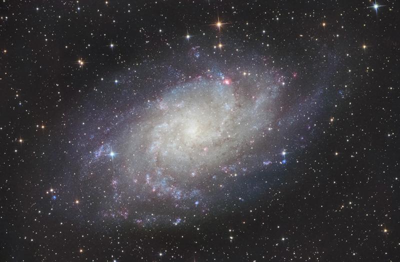 astrofotografia astrofarm alessio di cicco m33