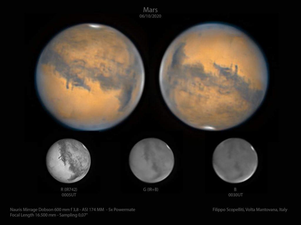Filippo Scopelliti Marte astrofotografia astrofarm Imaging Planetario e Geologia