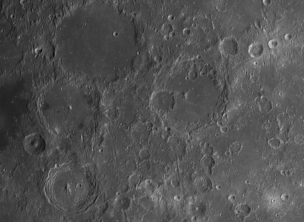 Elementi geomorfologici lunari astrofarm