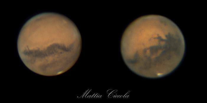 Opposizione di Marte astrofotografia ASTROFARM