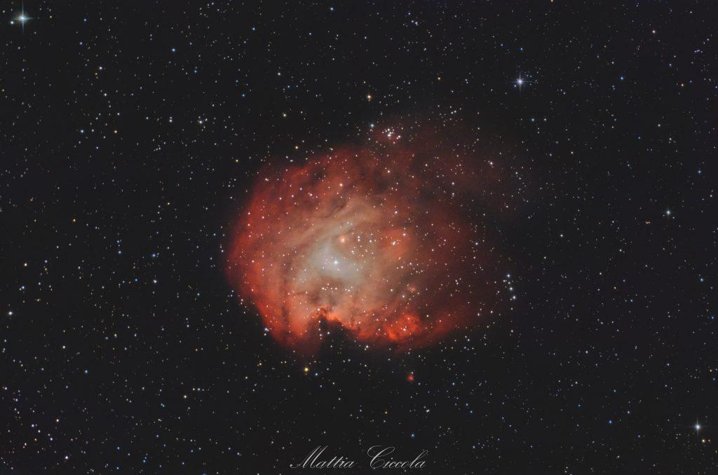 Nebulosa Testa di Scimmia astrofotografia astrofarm